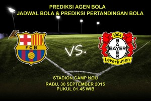 Prediksi-Pertandingan-Barcelona-Vs-Bayer-Leverkusen-Rabu-30-September-2015