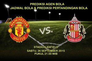Prediksi-Pertandingan-Manchester-United-Vs-Sunderland-26-September-2015