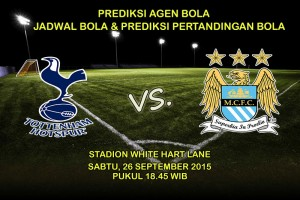 Prediksi-Pertandingan-Tottenham-Hotspur-Vs-Manchester-City-26-September-2015