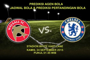 Prediksi-Pertandingan-Wallsal-VS-Chelsea-24-September-2015