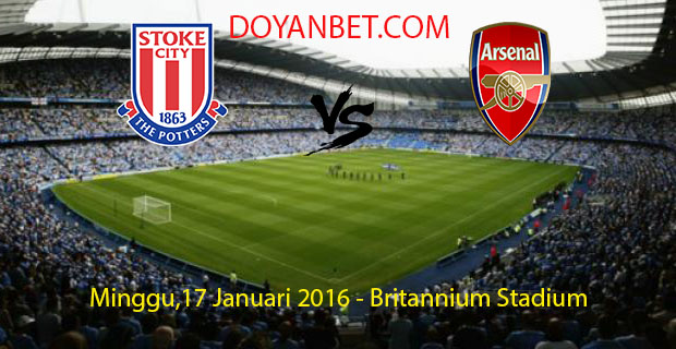 Prediksi Skor Stoke City vs Arsenal 17 Januari...