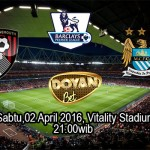 Prediksi Bola Bournemouth vs Manchester City 02 April 2016