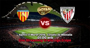 Live Streaming Valencia vs Athletic Bilbao 17 Maret 2016