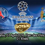 Prediksi Bola PSG vs Manchester City 07 April 2016